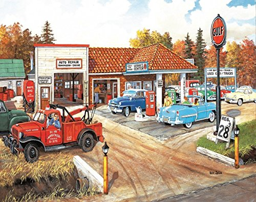 Full Service 550 Piece Jigsaw Puzzle by SunsOut