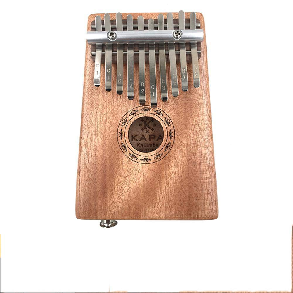 Laogg Kalimba Kalimba Finger Piano Mahogany Full Single Mineral Metal Log Color 10 Keys Thumb Piano by Laogg