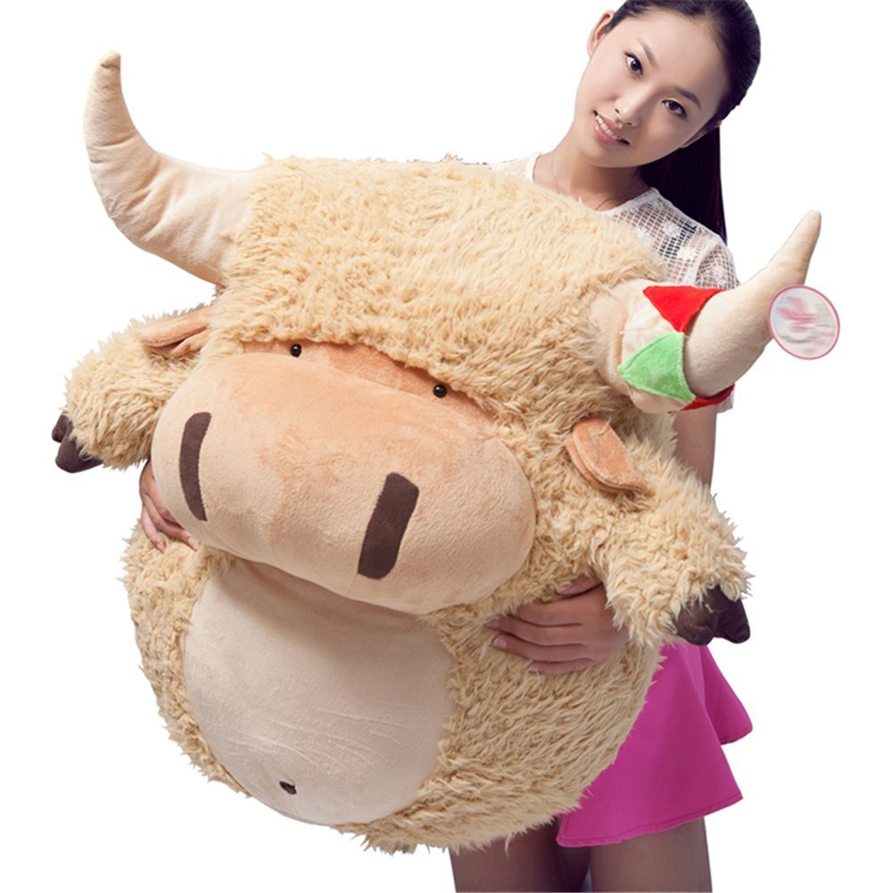 31.5  RemeeHi 18  Plush Cow Stuffed Animal Cute Cow Doll for Kids