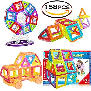 Magnetic Toys Building Tiles Blocks