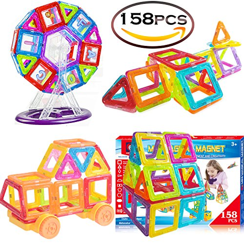 Magnetic Toys Building Tiles Blocks