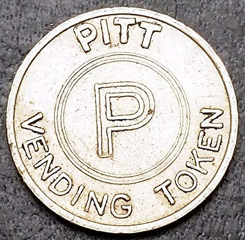 Vintage Pitt Vending Token - SCARCE - Free Combined Shipping