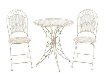 Amazon De Aubaho Garten Garnitur Set Tisch Gartentisch 2 Stuhle