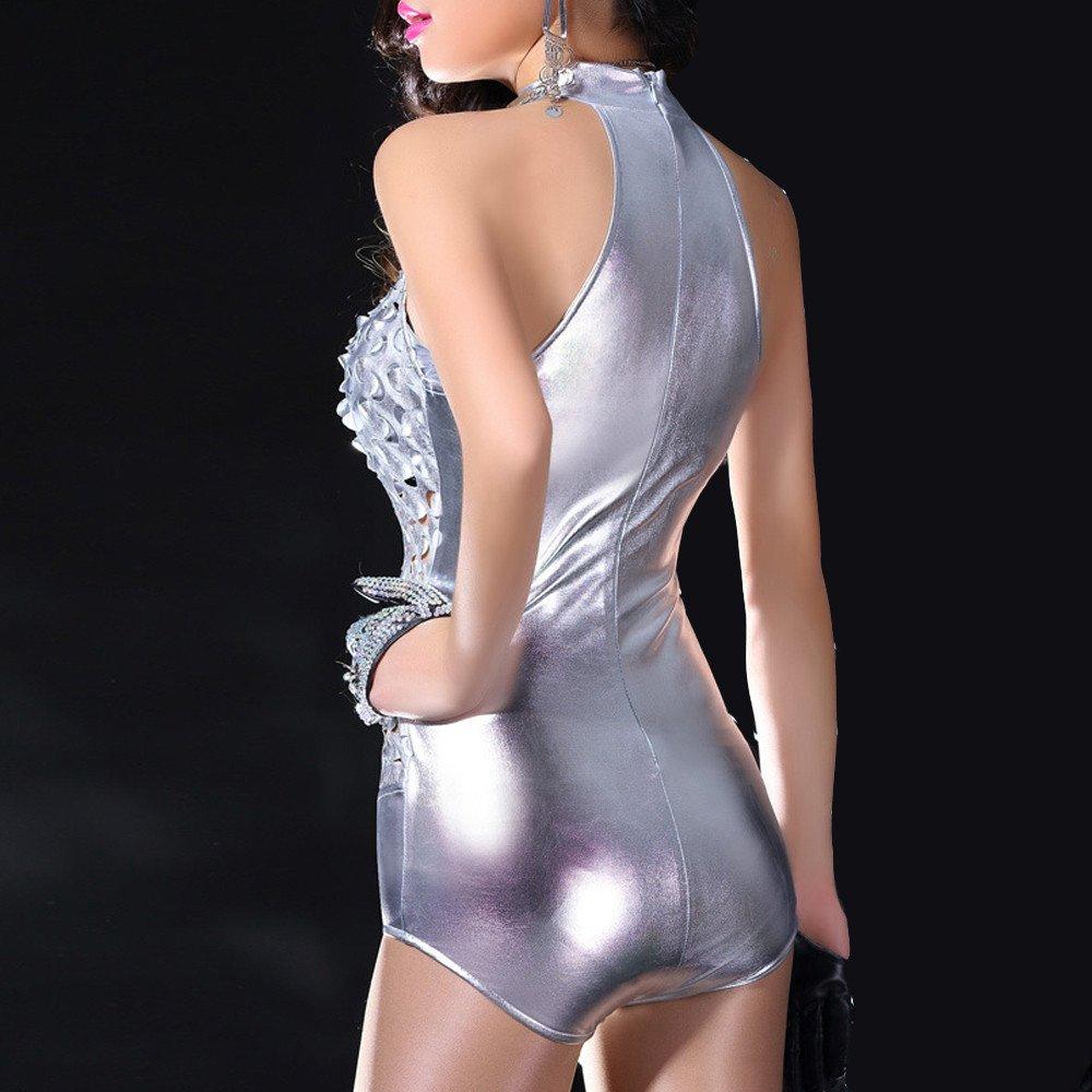 YpingLonk Lenceria Mujer Erotica de Mujer Lenceria Agujero Charol Sexy Club Wear Interior Stripper Mini Bustier Cuero Fiesta Babydoll Femenina Ropa Interior 36e348