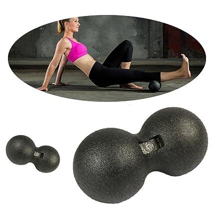 Juego de accesorios para yoga Sannysis bolas de auto-masaje ...