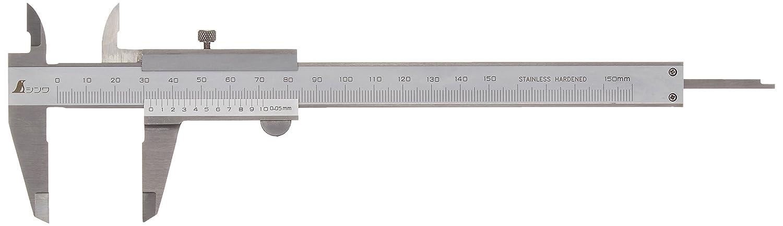 シンワ測定 普及ノギス M型 150mm