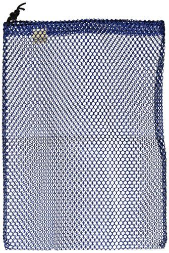 Mesh Kit Bag - Equinox Nylon Mesh Stuff Sack (11 x 16-Inch, Blue)