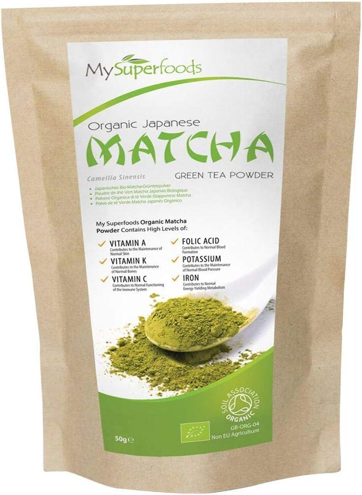 Té verde Matcha (50 gramos), MySuperFoods, Más antioxidantes que ...