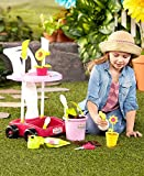 Kids Toy Garden Cart With Gardening Tools - A