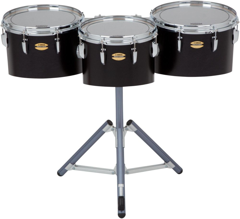 Yamaha ''8300 Series Field-Corp Series Marching Tenor Trio 12, 13 and 14 in. Black Forest''