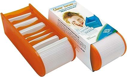 Wedo 2508006 - Caja para fichas A8, naranja: Amazon.es: Oficina y ...