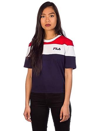 Fila Damen T-Shirt Crew Crop T-Shirt: Amazon.de: Bekleidung