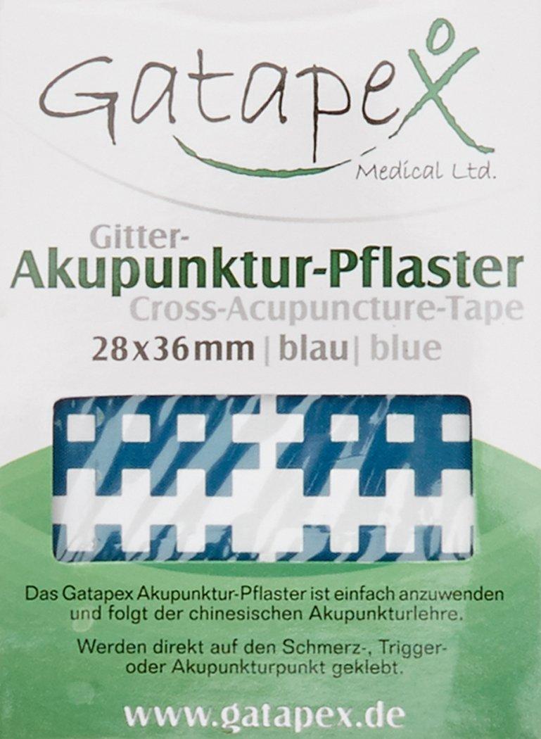 Gatapex Akupunktur Pflaster in Gitterform 120 Stück 28 x 35 mm ...