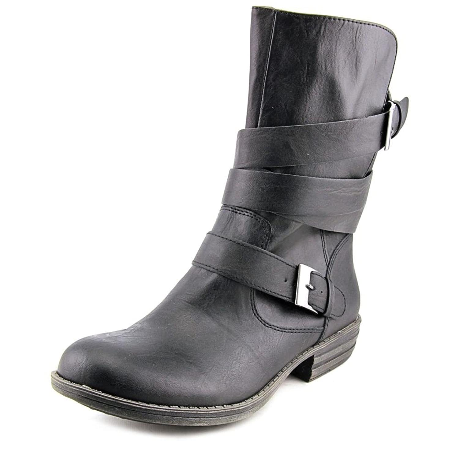 American Rag Cale Women Round Toe Synthetic Black Mid Calf Boot