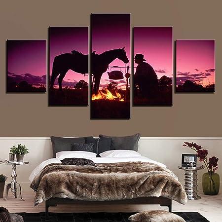 Imprimir decoración del hogar Lienzo Nave Espacial Arte de ...