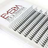 d curl lashes - EMEDA 2 Packs D Curl 3D W Volume Eyelashes Individual Cluster Lash Extensions .07 Thickness 12/14MM Eyelashes Extensions Beauty Professional Lashes