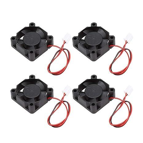 4PCS Impresora 3D Ventilador de enfriamiento, Accesorios de ...