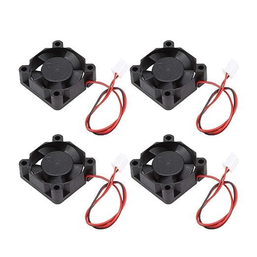 Furnoor 4 UNIDS Accesorios de Impresora 3D Mini Ventilador de ...