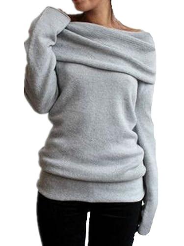 Aivosen Camisa Mujer Modernas Hipster Collar Del Montones Camisetas De Manga Larga Blusa De Elegante...
