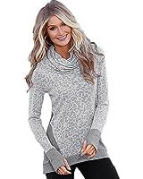 Hot Sale!Women Sweatshirt,Canserin New Women Fashion Loose Long Sleeve Sweatshirt Casual Autumn Winter Pullover Long Sleeve T-Shirt Tops Size US 4-14