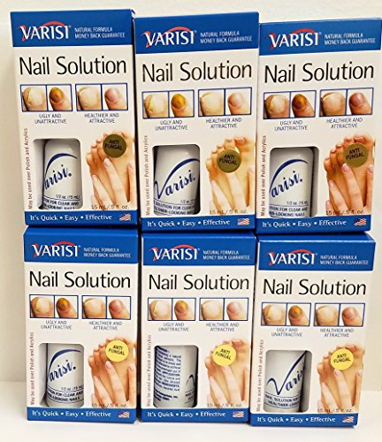 (Varisi Nail Restore 0.5 oz (Pack of 6) + Buy 3 Packs get FREE 4 Fanta sea Disposable Head Band)