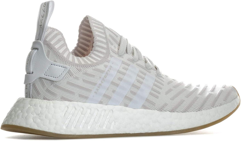 adidas Originals Baskets NMD_R2 Primeknit Blanc Femme