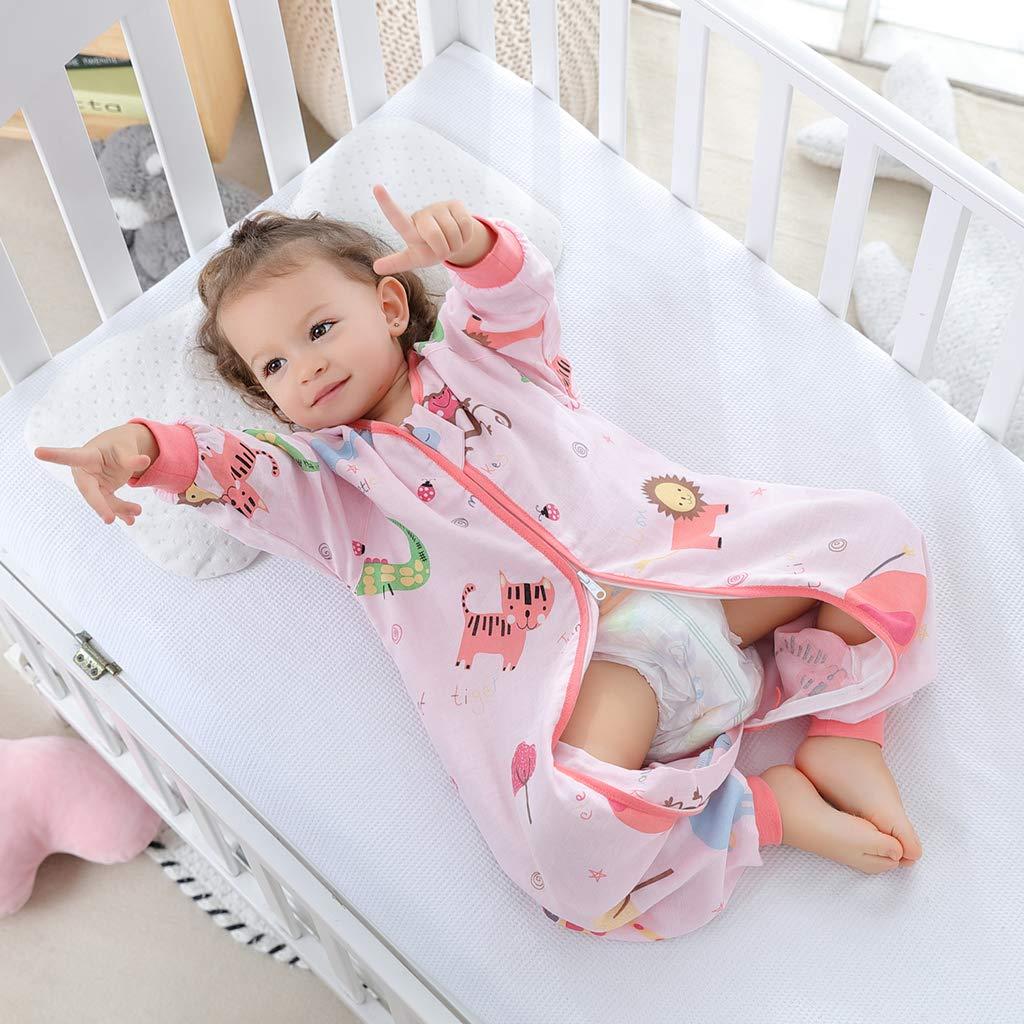 Sacco Nanna 1.5 Tog Sacco a pelo per Bambino con le Gambe Cerniera Frontale