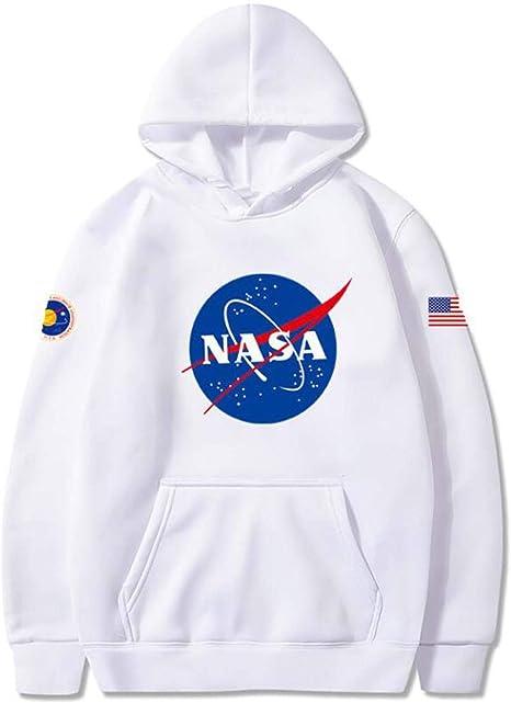 Nasa I Need My Space Mens Hooded Sweatshirt