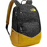 The North Face Wise Guy Backpack TNF Black Papercuts Print/Arrowwood Yellow