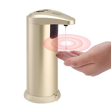 Dispensador de jabón automático, TAPCET Touchless Juego de dispensador de jabón líquido para lavar platos