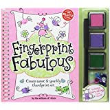 Fingerprint Fabulous: Create Sweet and Sparkly Thumbprint Art