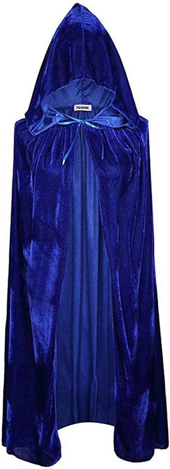 Mibuy Vestidos Mujer Renacentista Capa con Capucha Capa Disfraz De ...