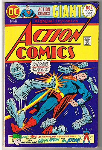 ACTION COMICS #449, FN, Superman, Giant Size,1938, more SM in store