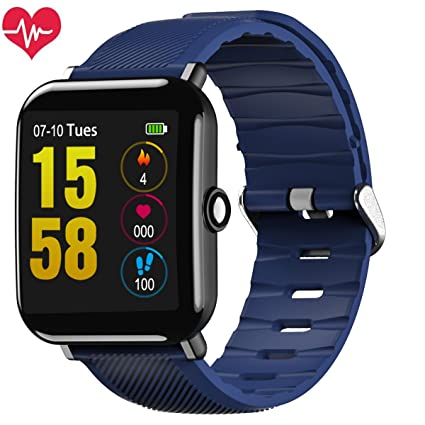 OUKITEL Fitness Tracker Smart Watch Activity Tracker Sports Bracelet IP67 Bluetooth Smartwatch with Heart Rate Monitor Pedometer Sleep Monitor Message ...