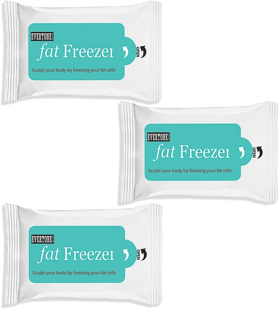Replacement Fat Freezer Pads - Direct Replacement Pads for Fat Freezer Belt and Shape N Freeze - Cooling Anti-Freeze Treatment Pads