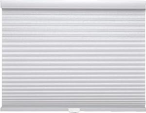 Trader Blinds Cordless Light Filtering Cellular Shade White 22