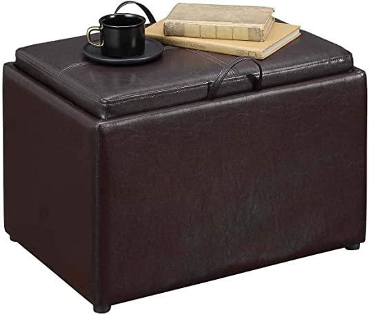 Convenience Concepts Designs4Comfort Accent Storage Ottoman