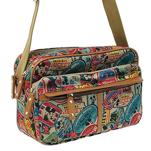 Handbag Mickey Disney Bag A141 Shoulder Mouse T Body Cross Vintage Women vqwC6w5