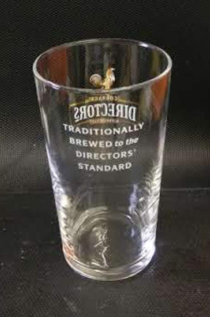 Courage Directors Pint Glass