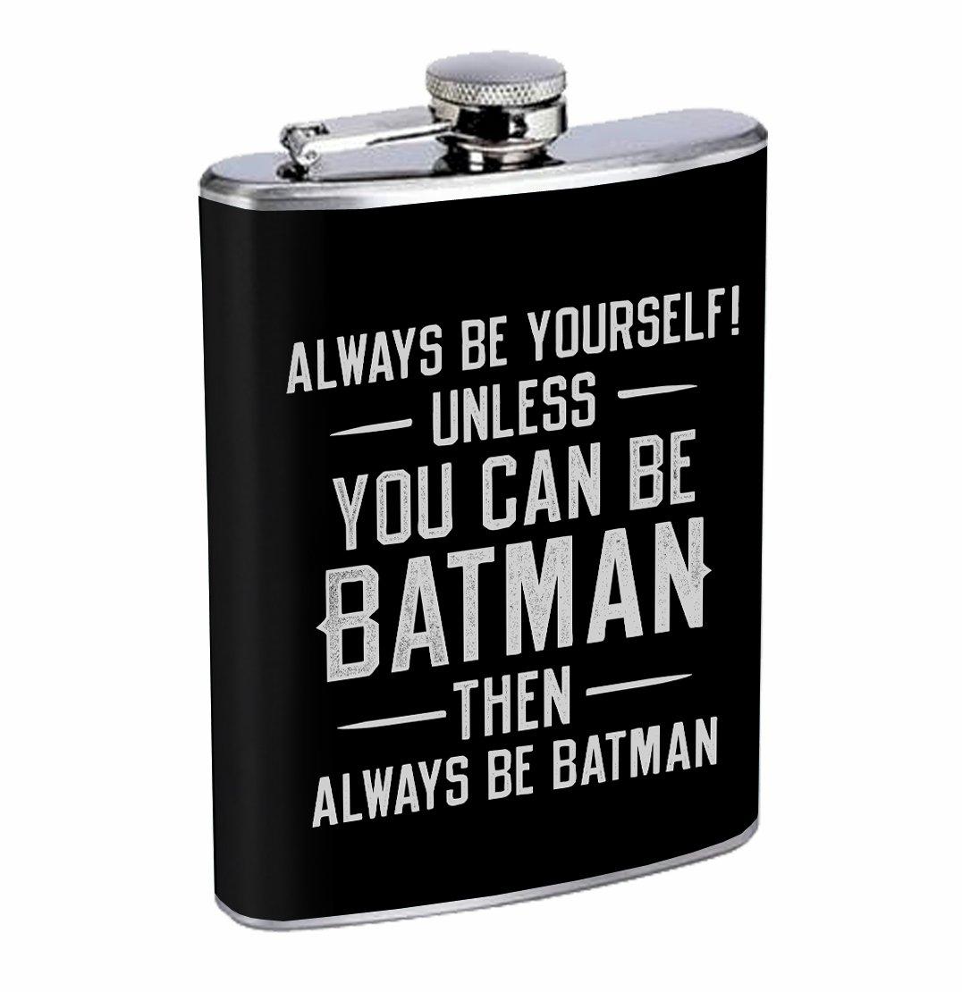 【特価】 Always Be Funny Batman Funny Always Super Hero 8オンスステンレス鋼フラスコDrinking Whiskey Be B076116NM6, のぞみマーケット:782db3bb --- a0267596.xsph.ru