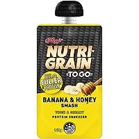 Kellogg's Nutri-Grain to GO Protein Squeezer Banana & Honey Smash, 140 g