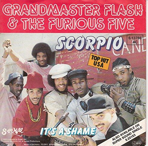 Grandmaster Flash & The Furious Five - Scorpio - Sugar Hill Records - 6.13766 (Grandmaster Flash & The Furious Five Scorpio)