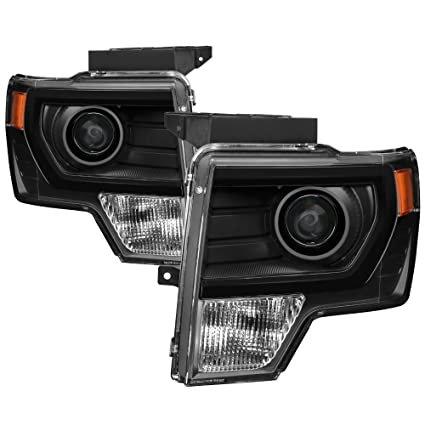 2014 F150 Headlights >> For 09 14 F150 Oem Style Projector Headlights Halogen Model Only
