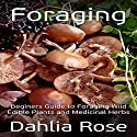 Foraging: Beginners Guide to Foraging Wild Edible Plants and Medicinal Herbs Audiobook by Dahlia Rose Narrated by Samanta Wilson