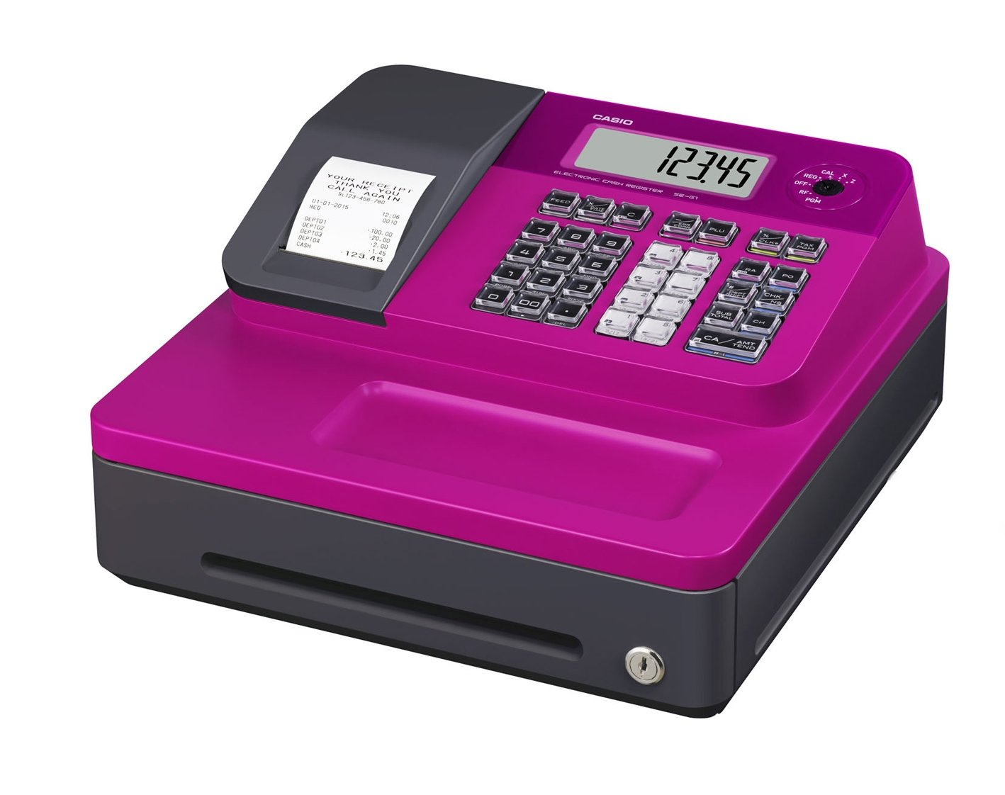 Casio SE-G1SC-PK Electronic Cash Register by Casio