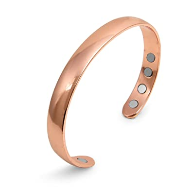 25dd61e1169 PRANA Pure Copper Magnetic Bracelet Bangle Cuff Pain Relief for Arthritis;  Magnetic Therapy; Traditional