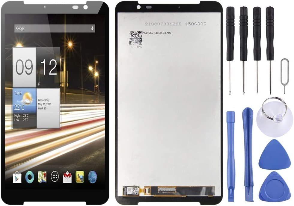 LUOKANGFAN LLKKFF Spare Parts for Smartphone LCD Screen and Digitizer Full Assembly for Acer Iconia Parlare S A1 724 A1-724(Black) Replacement Parts (Color : Black)