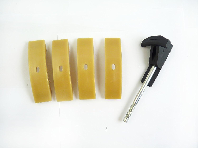 Timing Camshaft Chain Tensioner Halter /& 4 Pads VAG3366 058109088K 077109088P 077109087P For Audi VW Seat Skoda 1.8 2.4 4.2