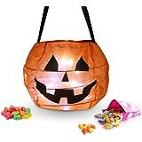 Halloween Pumpkin Lantern Costume Pumpkin Treat Candy Bags (1 Set)