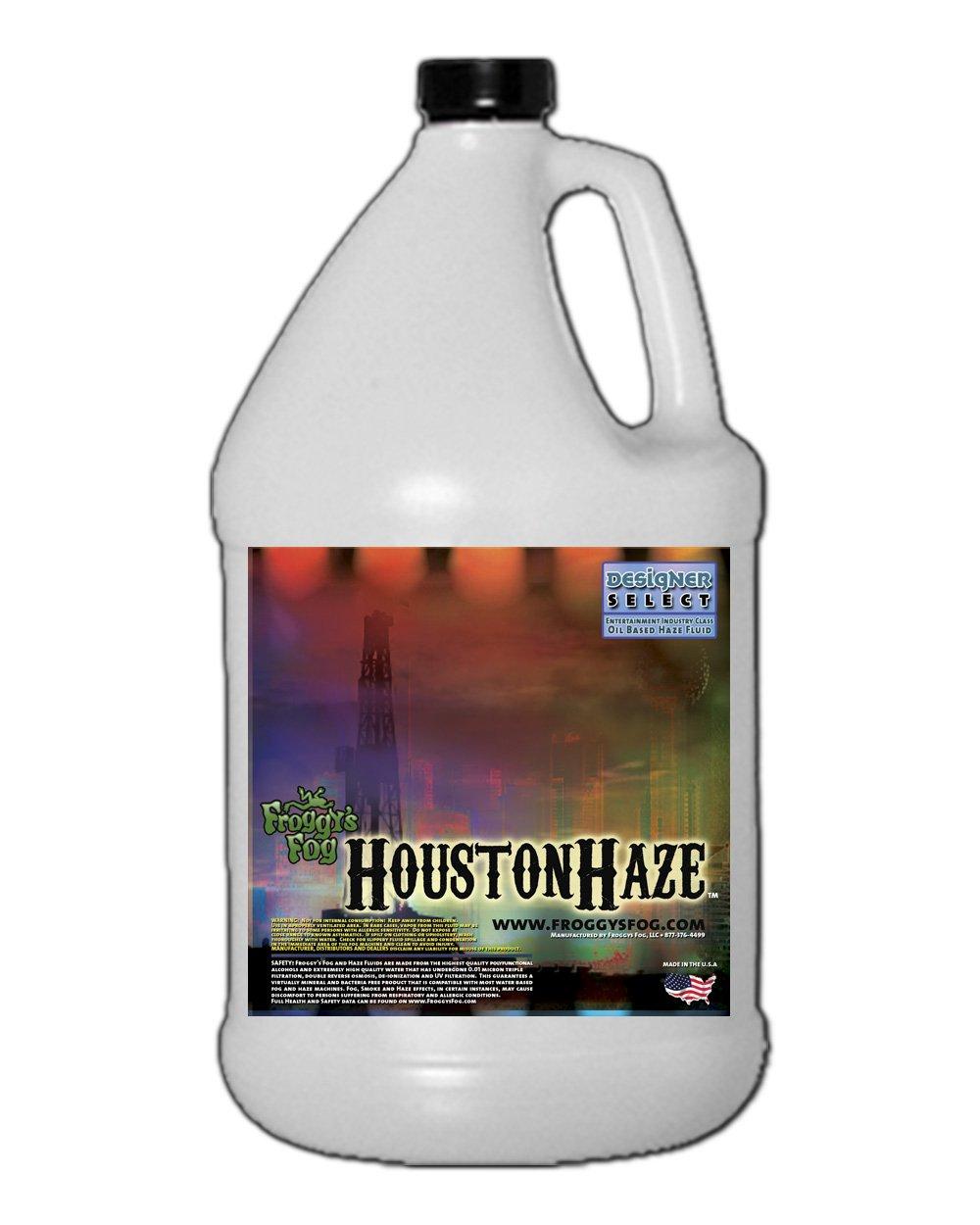1 Gal - Houston Haze - DS Oil Based Fluid for Haze Generators Froggy's Fog Fro-6253